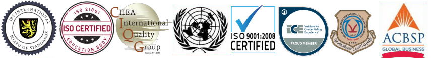 ISO Certified Accredited Credentials Designations certifications